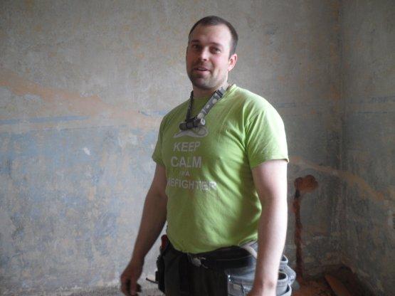 Elektrikář Tomáš Wojnar