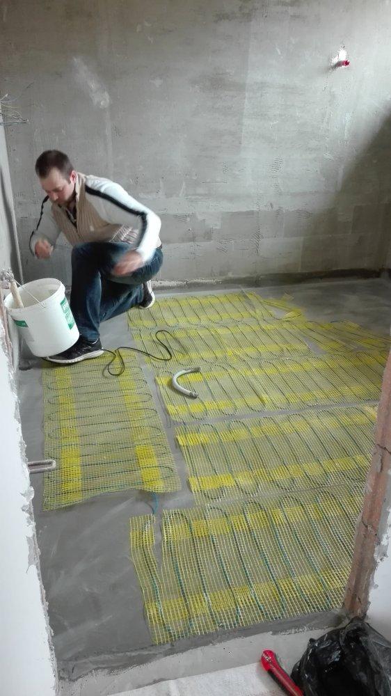 Vytápění v podlaze